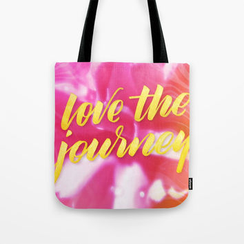 Pink Carnation Tote Bag by Shashira Handmaker