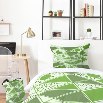 Viviana Gonzalez Greenery Sensation 01 Bed In A Bag | DENY Designs Home Accessories