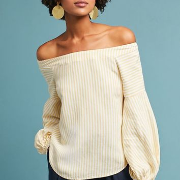 Clotille Off-The-Shoulder Blouse