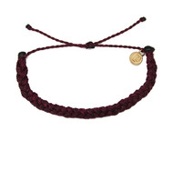 Pura Vida Burgundy Braided