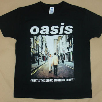 Oasis Whats The Story Morning Glory, T-shirt 100% Cotton
