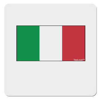 "Italian Flag - Italy 4x4"" Square Sticker by TooLoud"