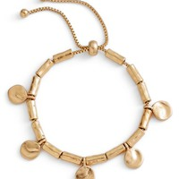Treasure & Bond Organic Summer Metals Sliding Disc Bracelet | Nordstrom