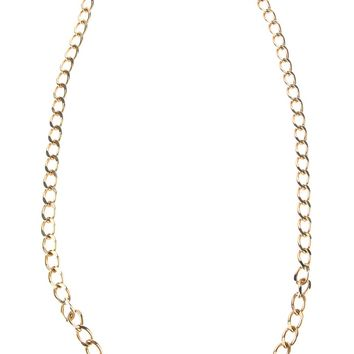 Christian Dior Vintage Large Link Chain Necklace