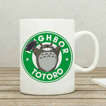 My Neighbor Totoro Starbucks Anime Manga Studio Ghibli Ceramic 11oz mug