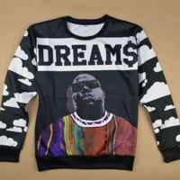 Biggie Dream$ Crewneck *EXCLUSIVE RICH MOB