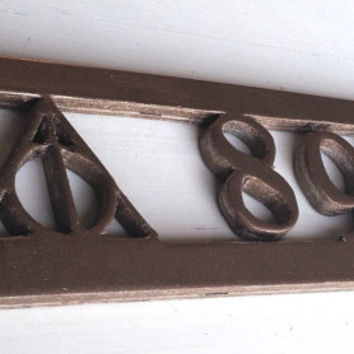 Deathly Hallows House Number