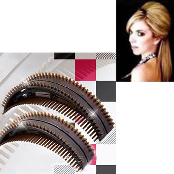 5 Pcs/ Set Women Lady Magic Hair Volumizing Bumpits Inserts Bump Up Clips Styling Tools