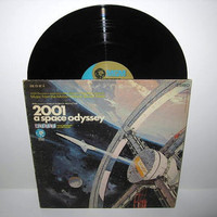 Vinyl Record Album 2001  A Space Odyssey by JustCoolRecords