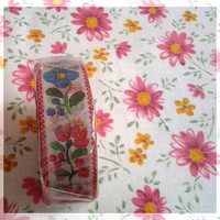 MT Ex tape, sweet flowers washi tape