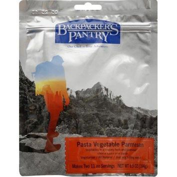 Pasta Vegetable Parmesan Camping Food, Makes Two 11oz servings..., By Backpacker's Pantry Ship from US
