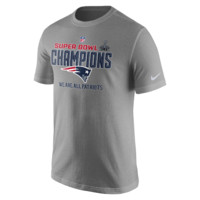 Nike Super Bowl Trophy (NFL Patriots) Men's T-Shirt Size 2XL (Grey)