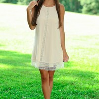 Romancing The Afternoon Dress-Ivory