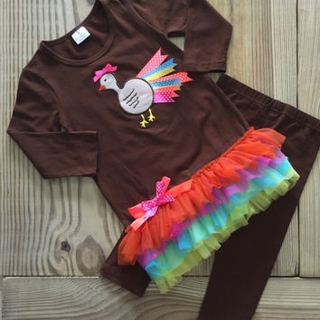 The Neon Turkey Outfit