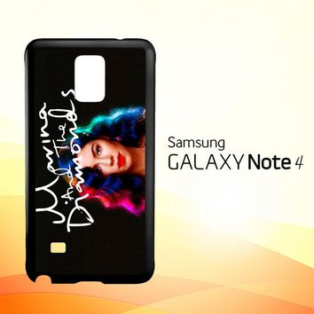 Marina and The Diamonds Z1529  Samsung Galaxy Note 4 Case
