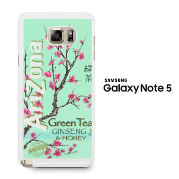 Arizona Green Tea SoftDrink Samsung Galaxy Note 5 Case