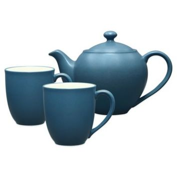 Noritake® Colorwave 3-Piece Tea-for-Two Teapot Set in Blue