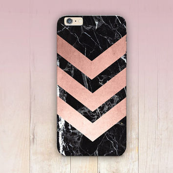 Rose Gold Phone Case For - iPhone 6 Case - iPhone 5 Case - iPhone 4 Case - Samsung S4 Case - iPhone 5C - Tough Case - Matte Case - Samsung