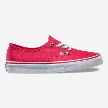 Vans Authentic Womens Shoes Teaberry/True White  In Sizes