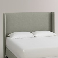 Linen Bryn Upholstered Bed
