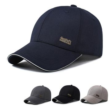 Trendy Winter Jacket Mens Spring Adjustable Baseball Caps Male Simple Cotton Fitted Black Formal Snapback Dad Hat Fashion Breathable Truck Hats AT_92_12