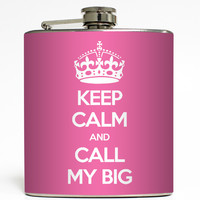 Call My Big - Sorority Flask
