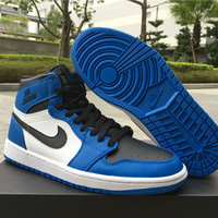 Nike Air Jordan 1 RETRO GS Blue/White Sneaker