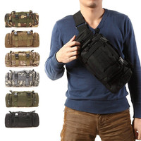 High Quality Outdoor Hiking Survival Backpack Waist Pack Mochilas Molle Camping Travel Pouch Bag