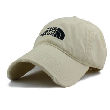 Beige The North Face Casual Classics Embroidery Cap Hats