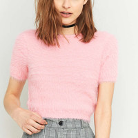 Kimchi Blue Fluffy Cropped Jumper - Urban Outfitters