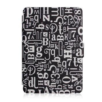 for amazon 2014 new kindle 6'' 7th generation ereader pu leather protective cover t case +screen protector
