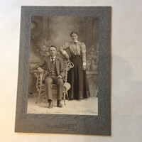 "Antique Photo ""Brother and Sister?"""