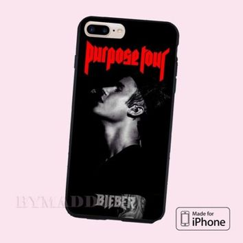 New Hot Justin Bieber Purpose Tour Poster CASE Cover iPhone 6s/6s+/7/7+/8/8+, X