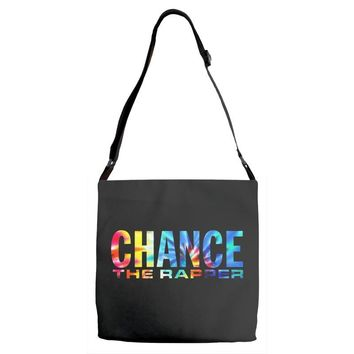 chance the rapper Adjustable Strap Totes