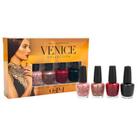 OPI Lacquer Nail Polish Fall Winter 2015 Venice Collection 4 Mini Bottle Set