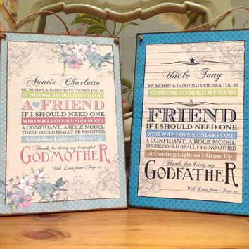 Godmother Gift, Godfather Gift, Godparent Gift, Christening Gift, baptism gift for godparent, gift for godparent, will you be my godmother