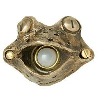 FROG DOORBELL COVER | Frogs, Toad, Door, Bells, Chime, Doorbells, Covers, Home, Porch, Bronze, Decorative | UncommonGoods