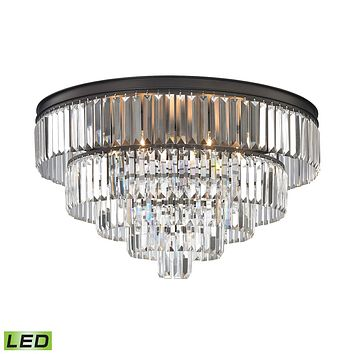 15226/6-LED Palacial 6 Light LED Chandelier In Oil Rubbed Bronze