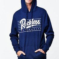 Young & Reckless Essentials Pullover Hoodie - Mens Hoodie - Blue