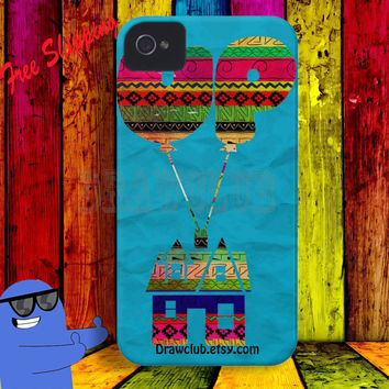 Draw IPhone Case UP pixar Aztec pattern