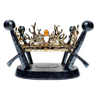 The Royal Crown of the Houses Baratheon & Lannister Game of Thrones Replica Prop