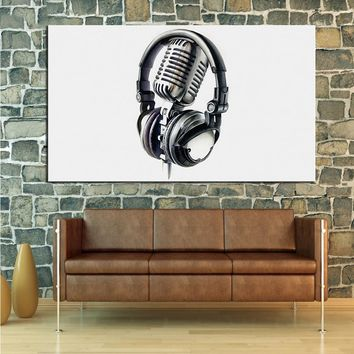 DPARTISAN music studio art Prints Wall Art Canvas Painting Wall Picture For Living Room abstract Decoration No Frame painting