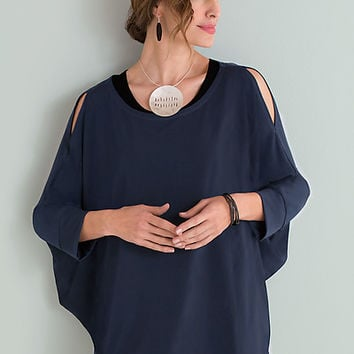 Cutout Top by Planet (Matte Jersey Top) | Artful Home