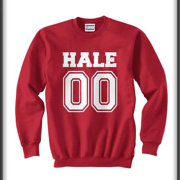 Halle 00 teen wolf beacon hills lacrosse Unisex Crewneck Sweatshirt S to 3XL