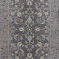 6864 Gray Distressed Oriental Area Rugs