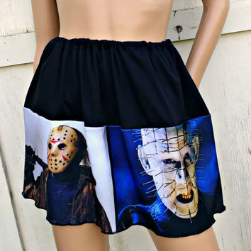 Cult Classic Horror Stories tribute drawstring adjustable skirt Halloween custom party costume
