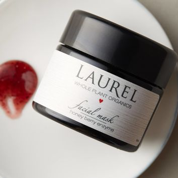 Laurel Whole Plant Organics Honey Berry Enzyme Facial Mask