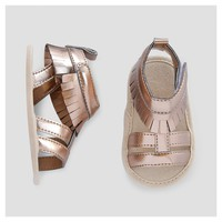 Baby Girls' Gladiator Sandals - Cat & Jack™ Gold