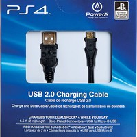 Sony - 6.5' USB 2.0 Charging Cable for PS4