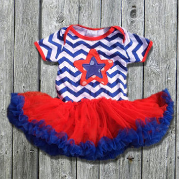 July 4th Tutu Onesuit